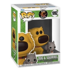 Funko Pop! Disney: Up Dug Days - Dug with Squirell