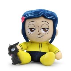 Coraline: Coraline and Cat Plush 20cm