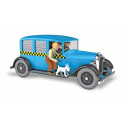Kuifje: De Taxi uit Chicago 1/24 model