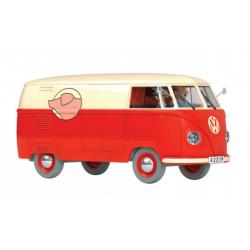 TinTin: The Van of Mister Sanzot 1/24 model