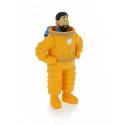 Haddock Cosmonaut PVC figure 8cm