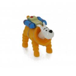 Snowy Cosmonaut PVC figure 4cm