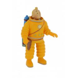Tintin Cosmonaut PVC figure 8cm