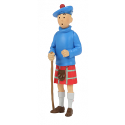 Tintin in Kilt PVC figure 8cm