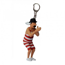 Thompson Swimming PVC keychain 6cm