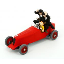 Kuifje: De Rode Racewagen van Amilcar 1/43 model