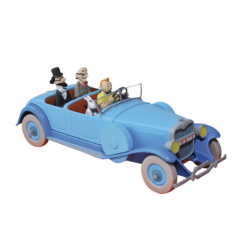 Tintin: The Lincoln Torpedo 1/43 model