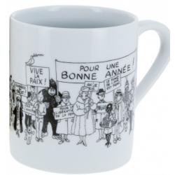 Tintin: The Wishing Card 1972 Mug
