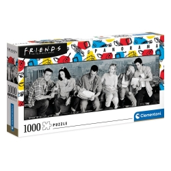 Friends: Panorama Jigsaw Puzzle (1000 pieces)