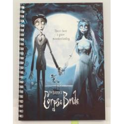 Corpse Bride: Movie Poster Spiral Notebook A5