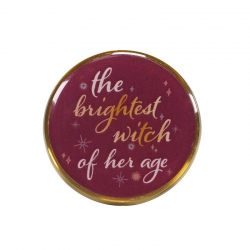 Harry Potter: Hermione Brightest Witch Enamel Pin Badge