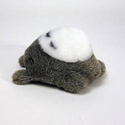 Studio Ghibli: Totoro Lying Down Fluffy Beanbag 12 cm Plush