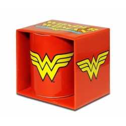 DC - Wonder Woman - WW-Logo - Coffee Mugs - red