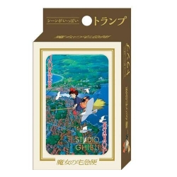 Studio Ghibli Kiki's Delivery Service Playing Cards
