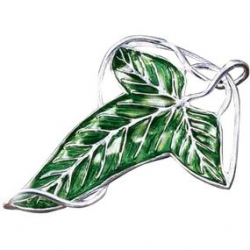 Lord of the Rings: Elven Leaf Brooch Costume Replica