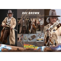 Hot Toys Back To The Future III Movie Masterpiece Action Figure