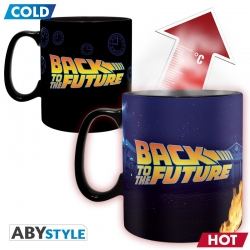 Back to the Future: DeLorean Heat Change Mug Mok