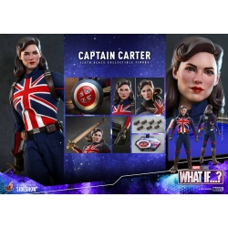 Hot Toys: Marvel: What If - Captain Carter 1:6 Scale Figure 29cm