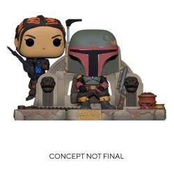 Funko Pop! Moment: Star Wars The Mandalorian - Boba Fett &