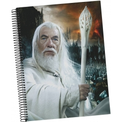 Lord of the Rings: 20th Anniversary - Gandalf Spiral A5 Notebook