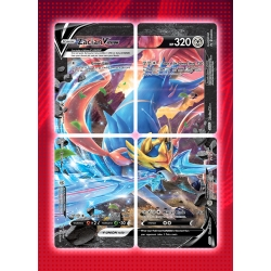 Pokémon: Set of 4 Promo Cards - Zacian V Union and trainer card