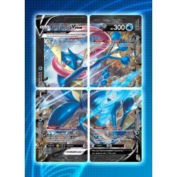 Pokémon: Set of 4 Promo Cards - Greninja V Union trainer card