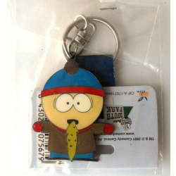 South Park Metal Keychain: Puking Stan