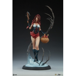 Sideshow Fairytale Fantasies Collection Red Riding Hood Statue