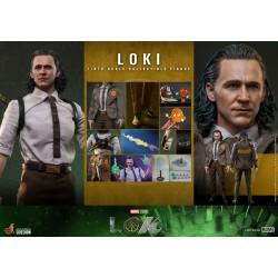 Hot Toys: Marvel: Loki - Loki 1:6 Scale Figure