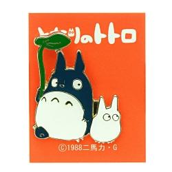 My Neighbor Totoro Pin Badge Big & Middle Totoro 4cm