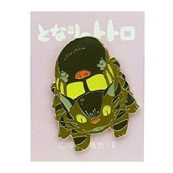 My Neighbor Totoro Pin Badge Cat Bus 4cm